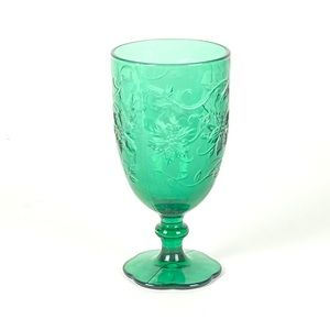Princess House 5230 Emerald Green Fantasia Goblets